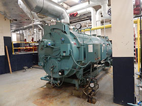a steam boiler capacity is 30 tons of steam per hour. do 30 tons …