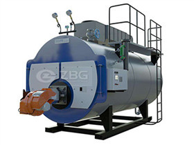 1.05 MW Horizontal Gas Fired   Atmospheric Pressure Hot Water Boiler
