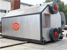 Assembly package D type gas oil fired boiler for central heating