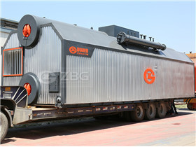 Single Drum Coal Fired Water- Fire Tube Steam Boiler