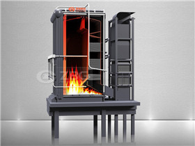 8t/H Assembled Coal Fired Chain Grate Steam Boiler with CE