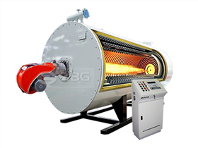 Gas heating and hot water boiler 30t Small gas steam generator