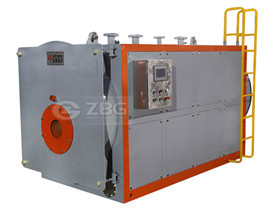 Output Steam Hot Water Three Pass Fuel Oil Gas Horizontal Boiler