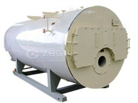 wood coal fired hot water boiler