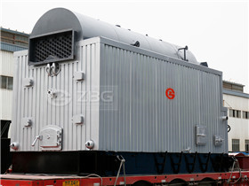 supply heating boiler 10 ton/hr solid fuel biomass fired hot water boilers