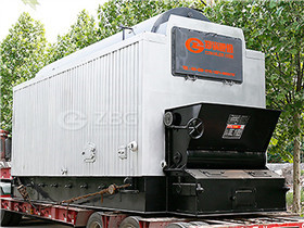 45t/h industrial boiler gas and oil fired steam boiler for power station at a thermal power plant